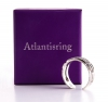 Atlantisring silber (Damengröße)